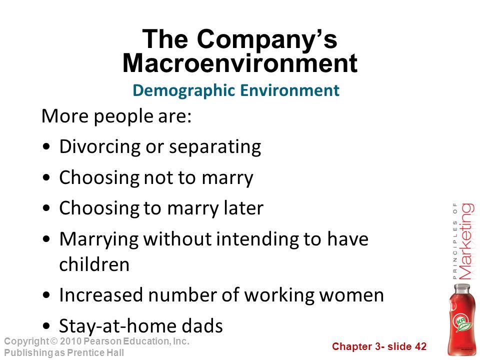 The Company's Macroenvironment