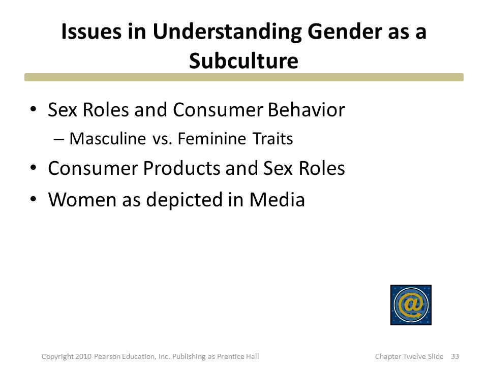 Issues in Understanding Gender as a Subculture