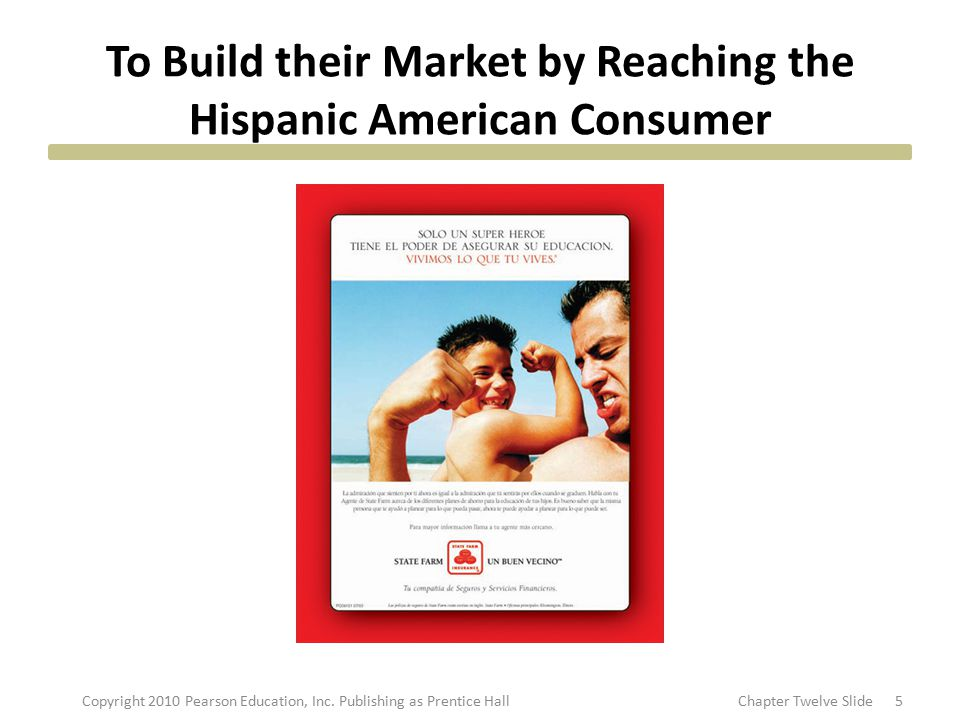 To Build their Market by Reaching the Hispanic American Consumer