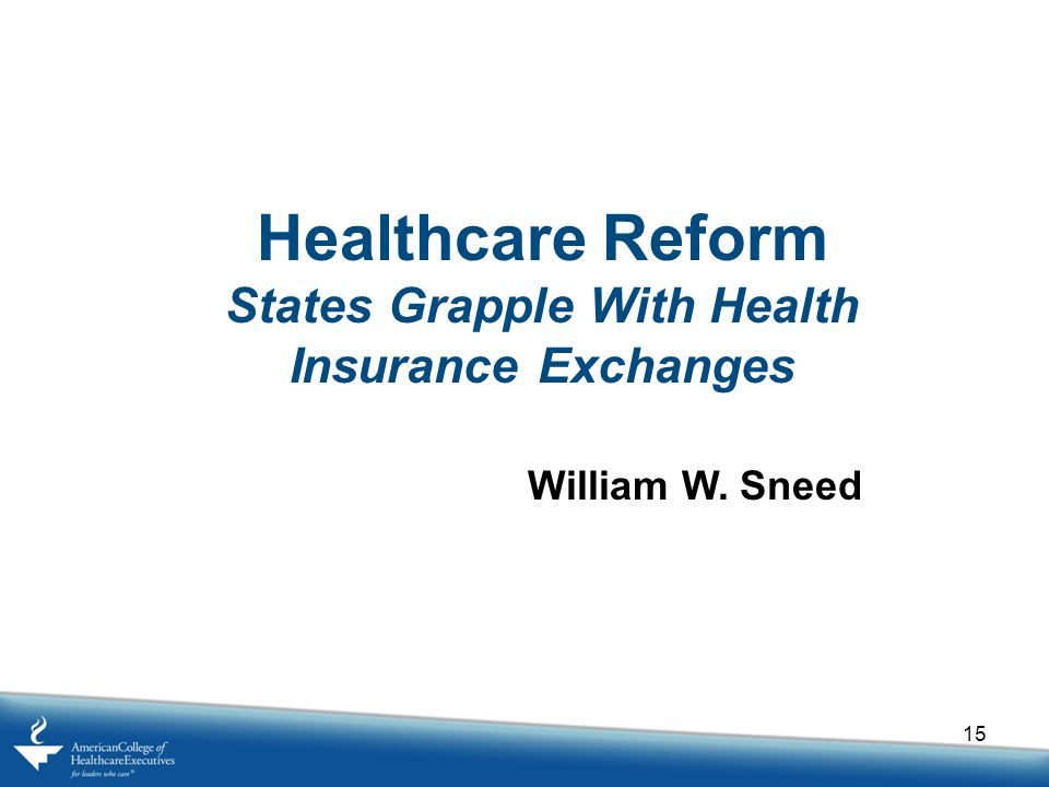 States Grapple With Health Insurance Exchanges
