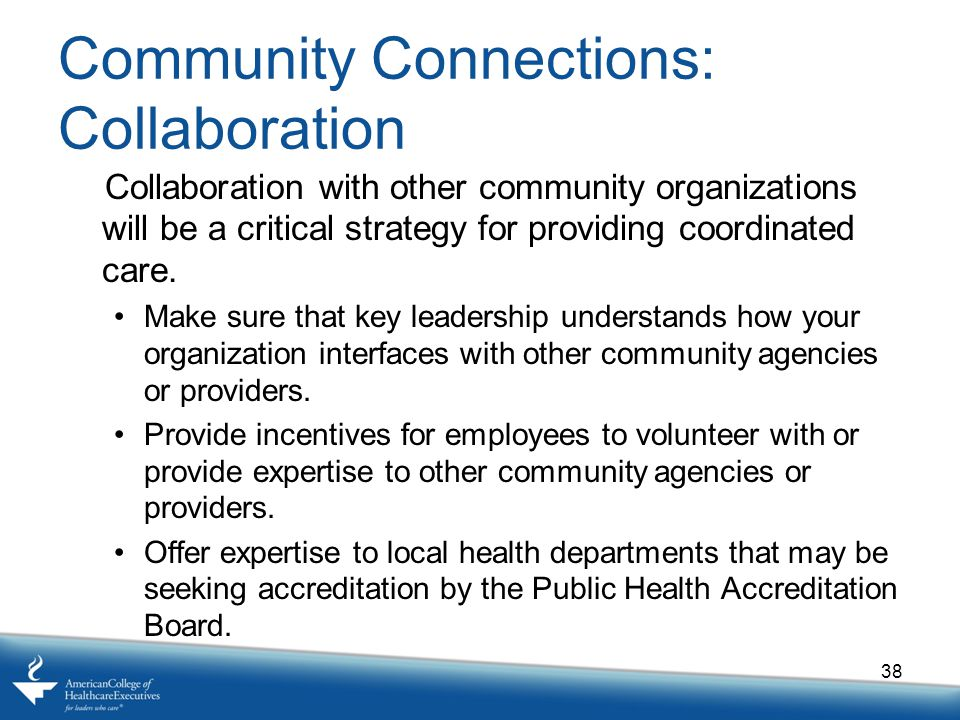 Community Connections: Collaboration