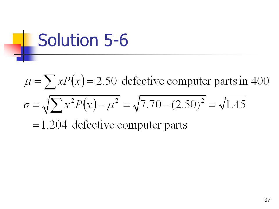 Solution 5-6