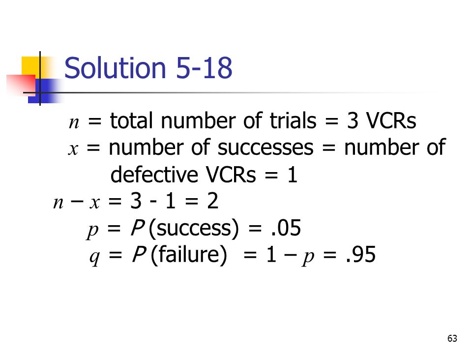 Solution 5-18