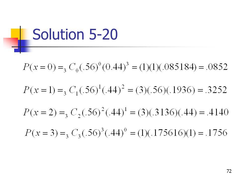 Solution 5-20