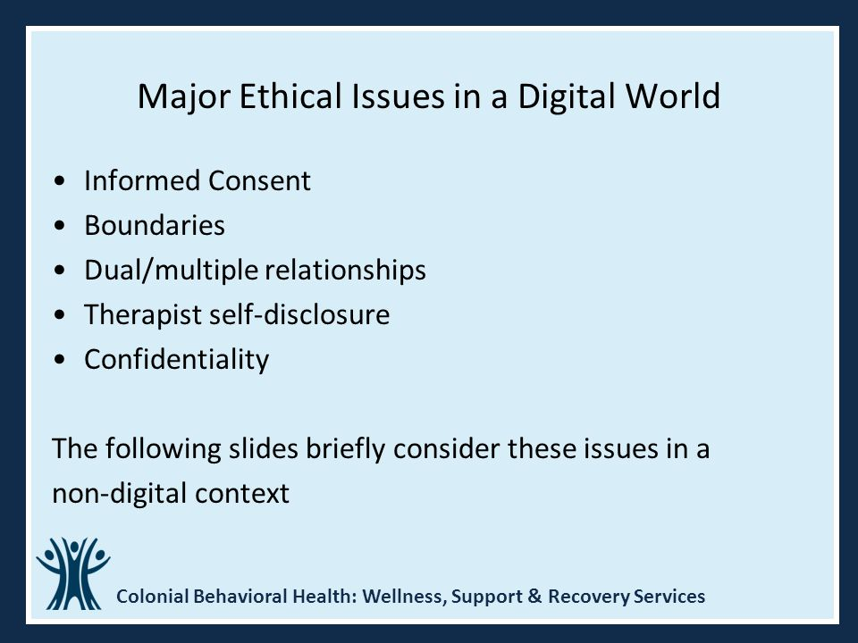 Major Ethical Issues in a Digital World
