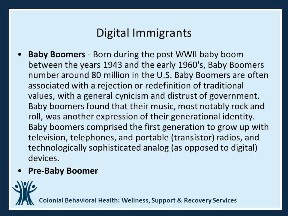 Digital Immigrants