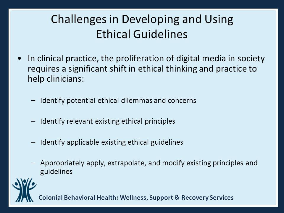 Challenges in Developing and Using Ethical Guidelines