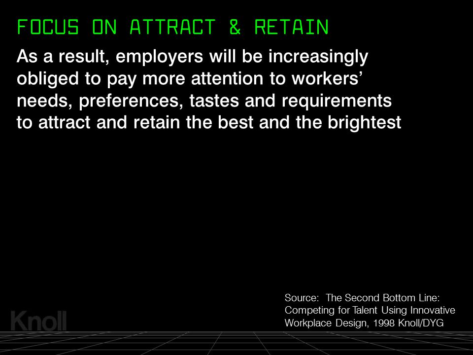 FOCUS ON ATTRACT & RETAIN