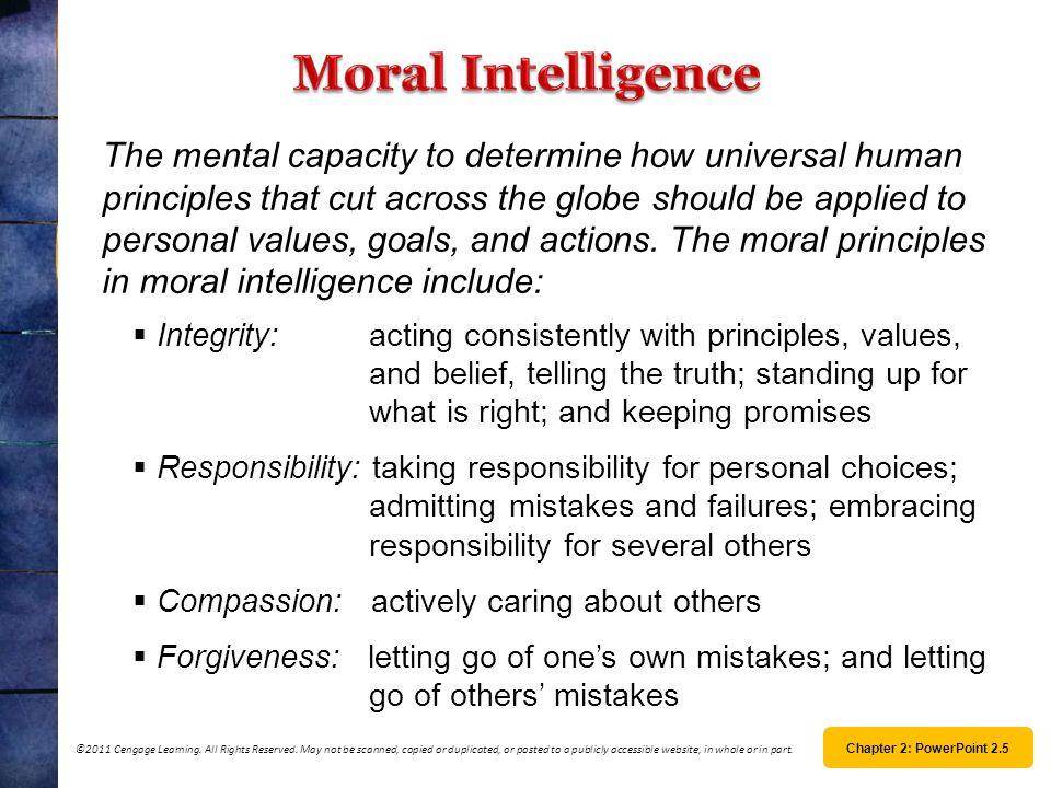 Moral Intelligence
