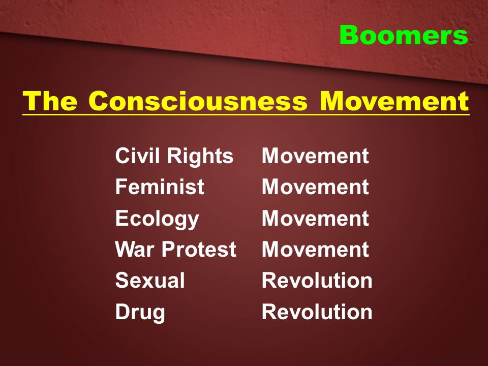 The Consciousness Movement