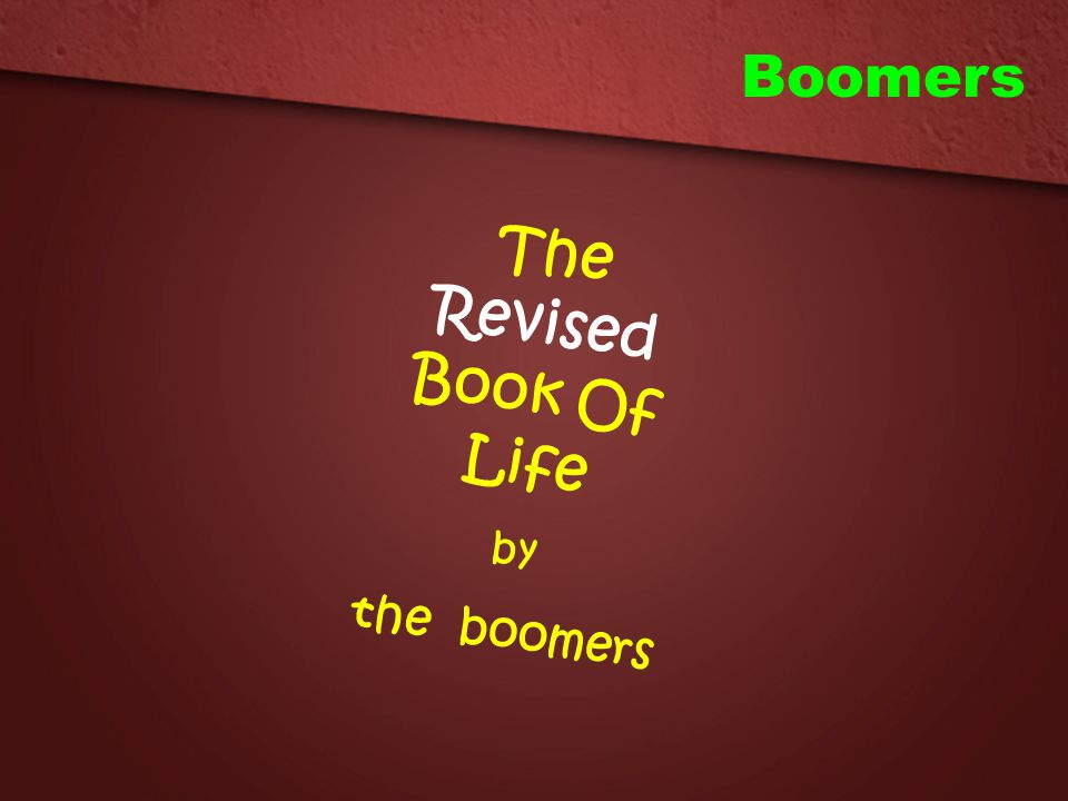 The Revised Book Of Life