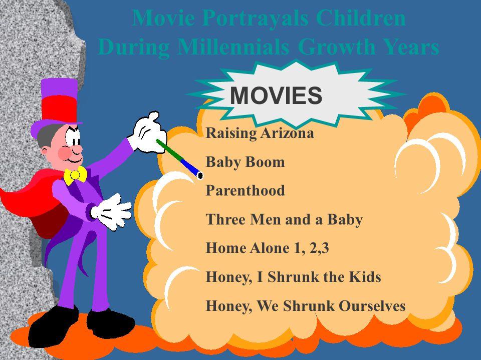 Movie Portrayals Children During Millennials Growth Years