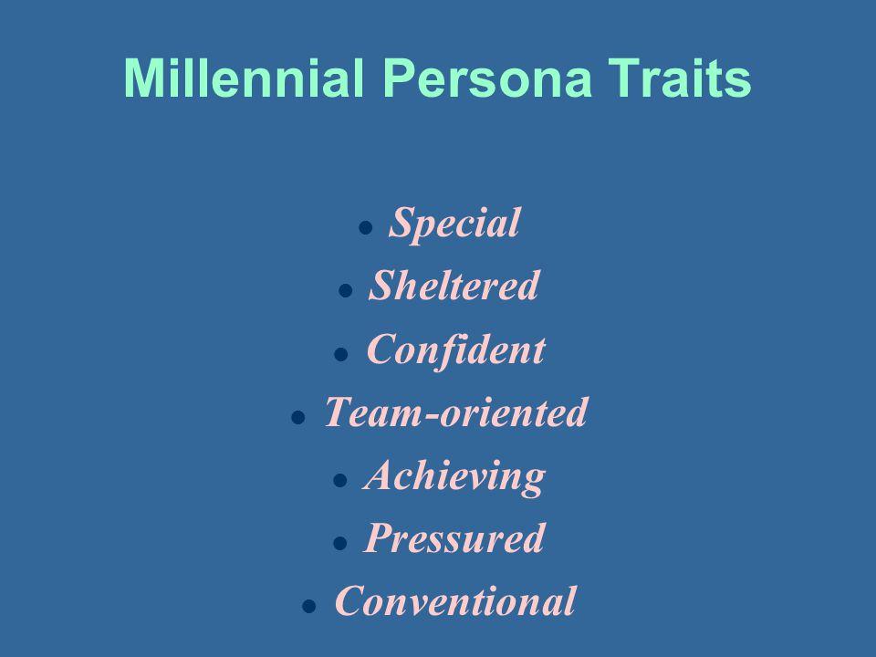Millennial Persona Traits