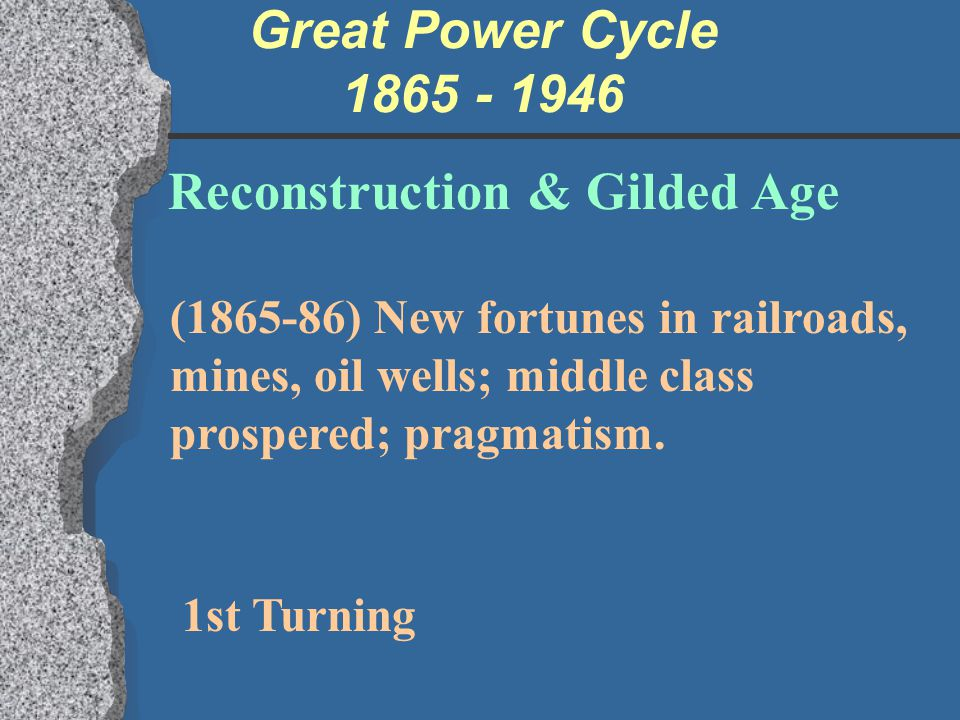 Reconstruction & Gilded Age