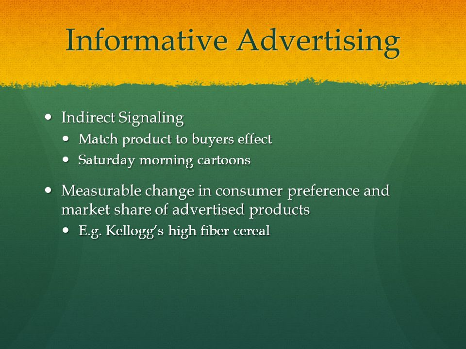 Impact of persuasive advertisements on consumer