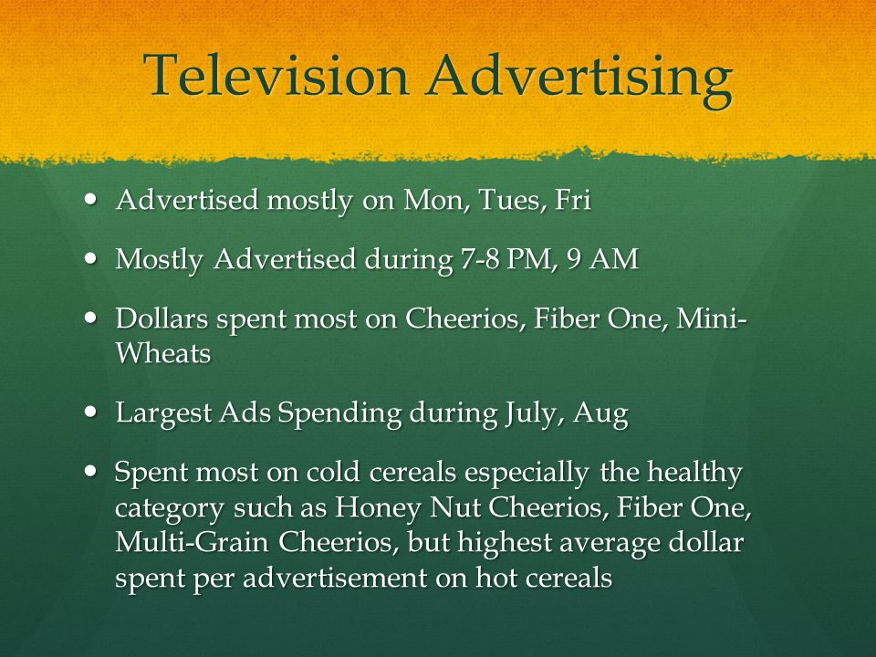Television Advertising