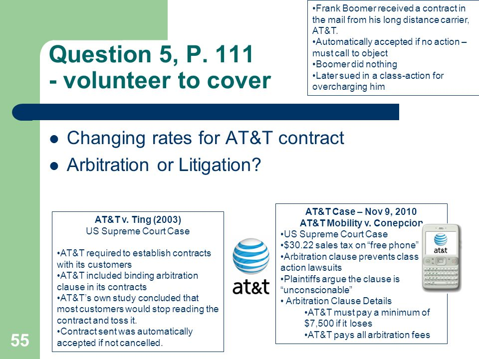 Question 5, P. 111 - volunteer to cover