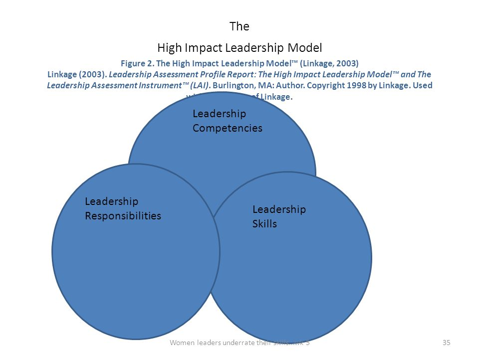 High Impact Leadership Model