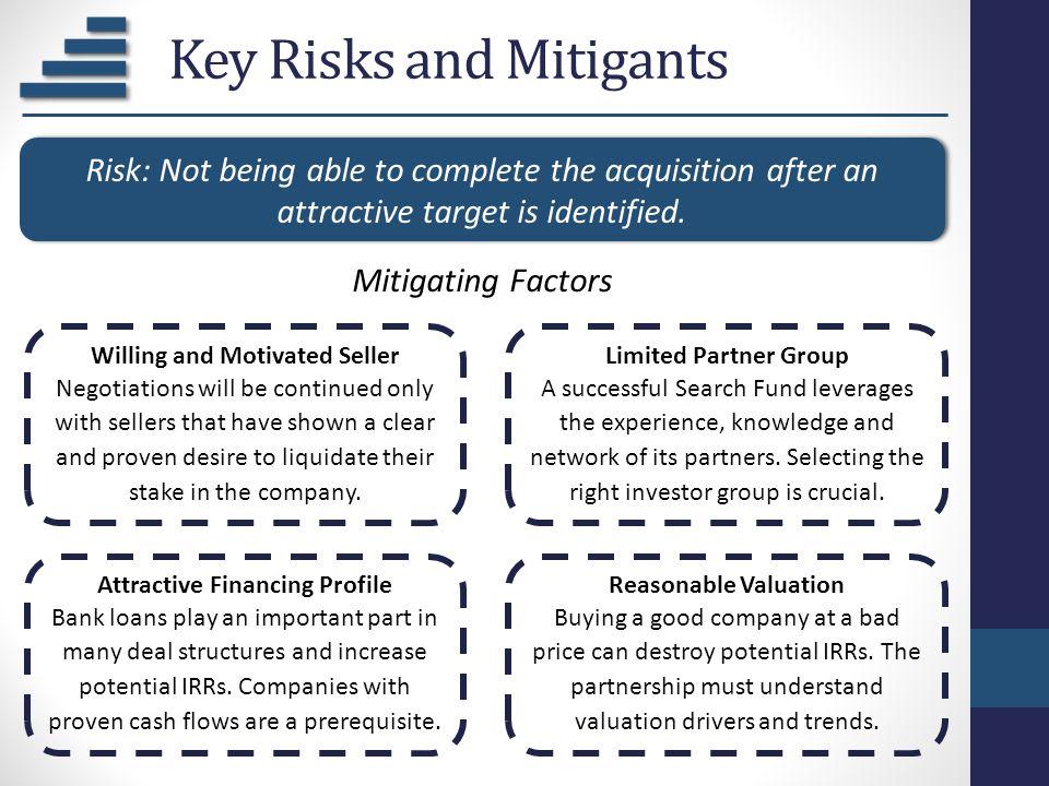 Key Risks and Mitigants
