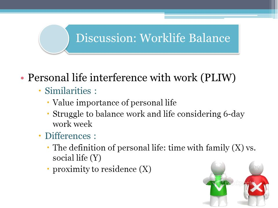 Discussion: Worklife Balance