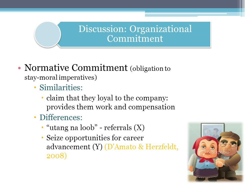 Discussion: Organizational Commitment