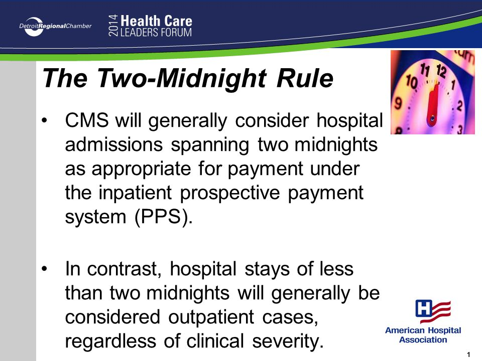 The Two-Midnight Rule