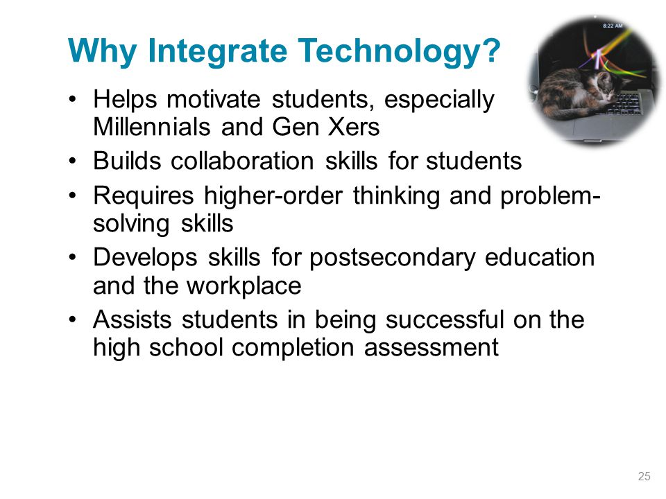 Why Integrate Technology