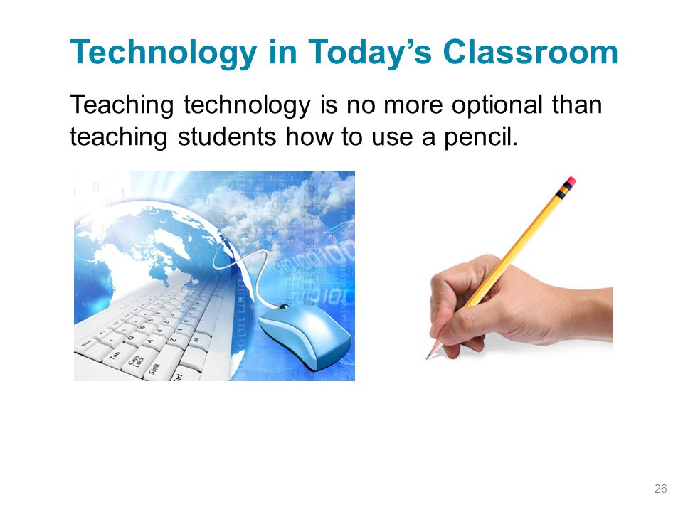 Technology in Today's Classroom