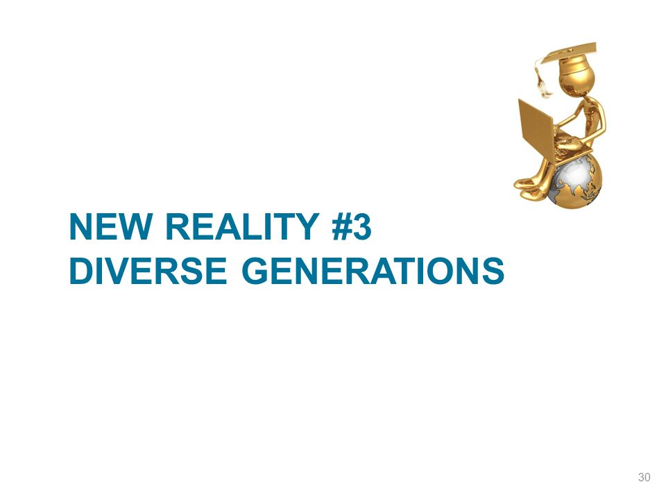 New Reality #3 Diverse Generations