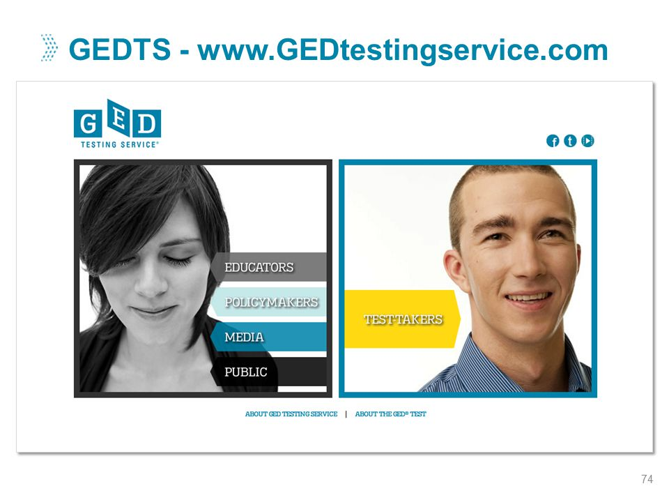 GEDTS - www.GEDtestingservice.com