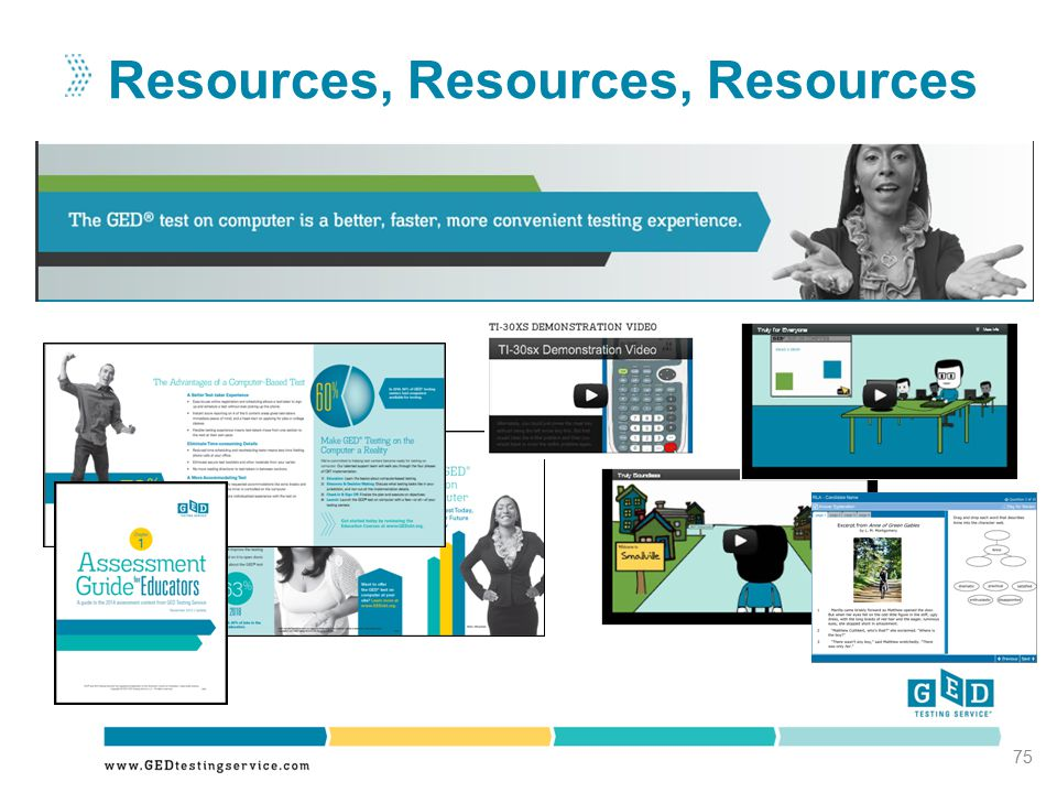 Resources, Resources, Resources