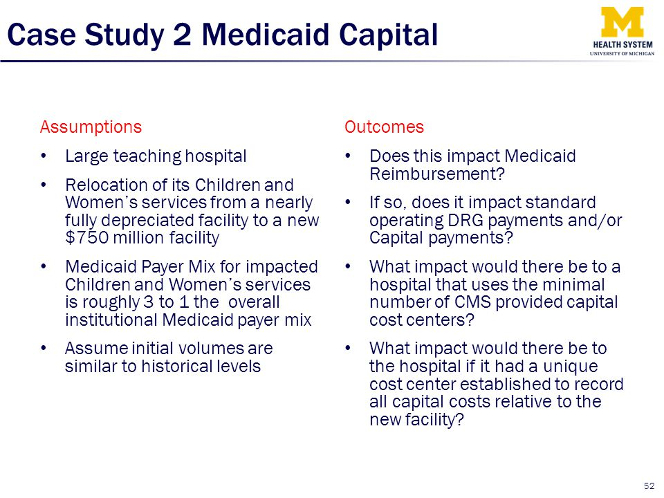 Case Study 2 Medicaid Capital