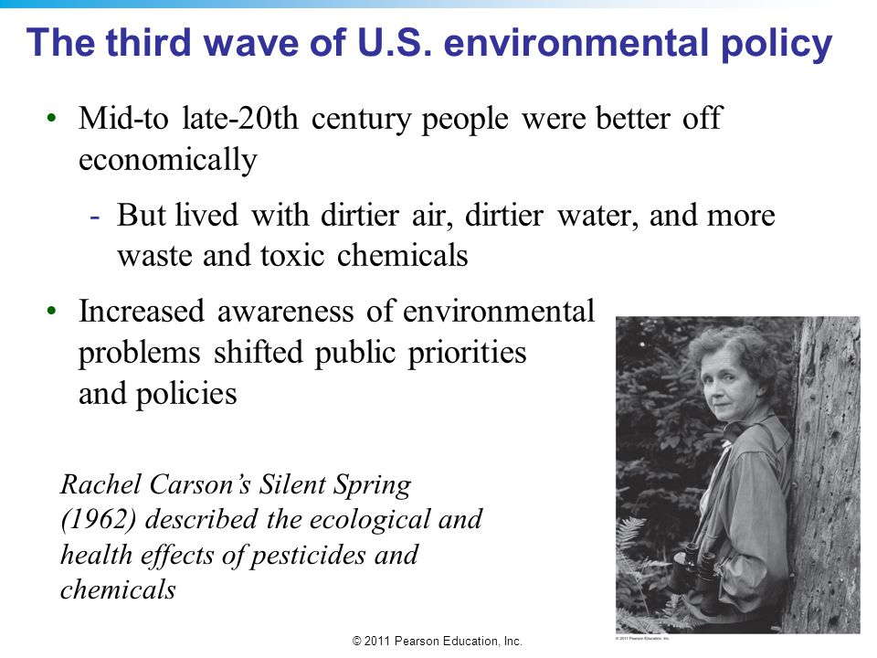 The third wave of U.S. environmental policy