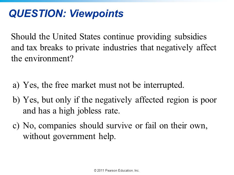 QUESTION: Viewpoints