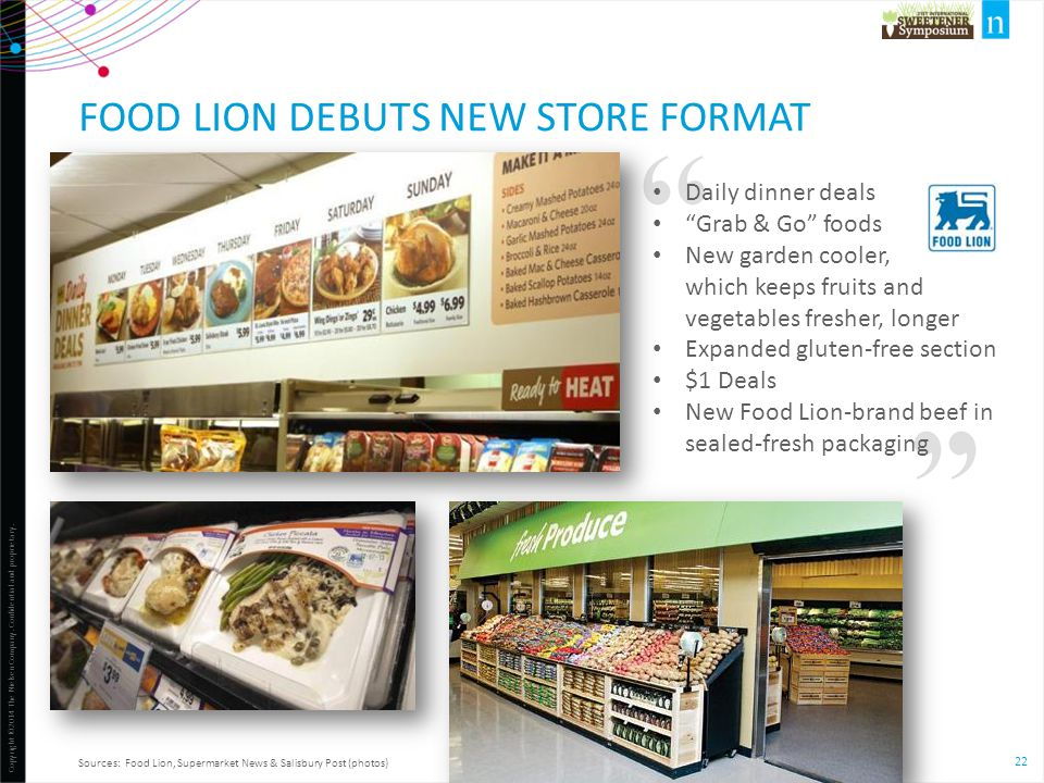 Food Lion debuts new store format