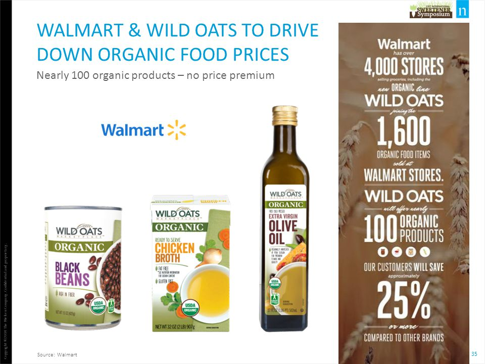 Walmart & Wild Oats To DRIVE Down Organic Food Prices