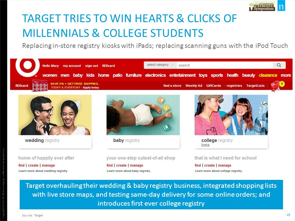 Target tries to win hearts & clicks of Millennials & College Students