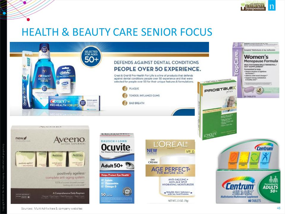 Health & Beauty Care senior focus