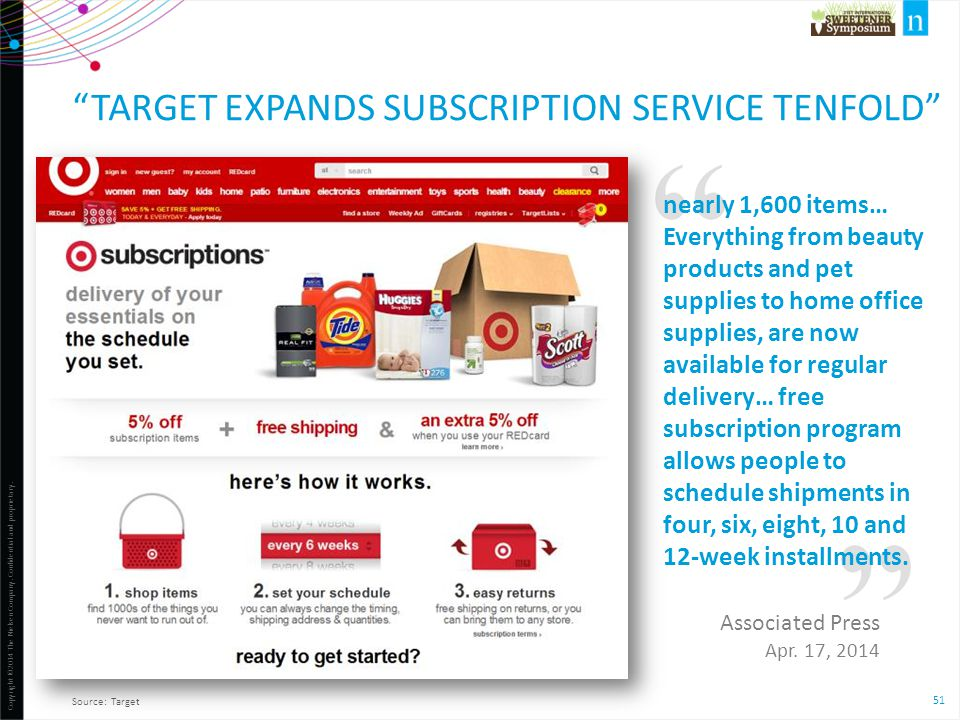Target Expands Subscription Service Tenfold