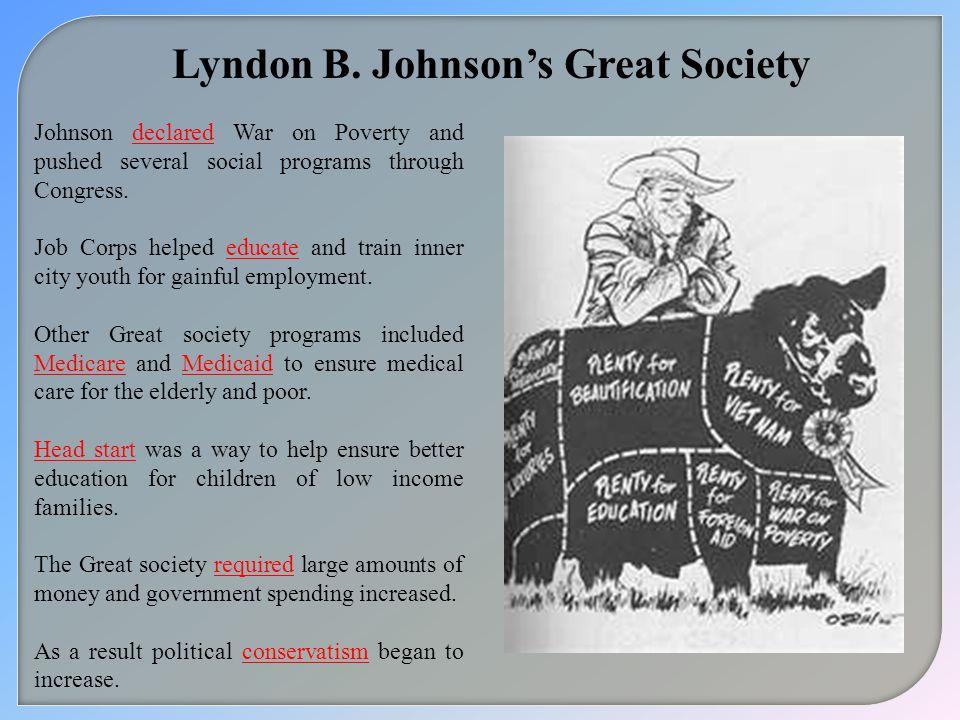 Lyndon B. Johnson's Great Society