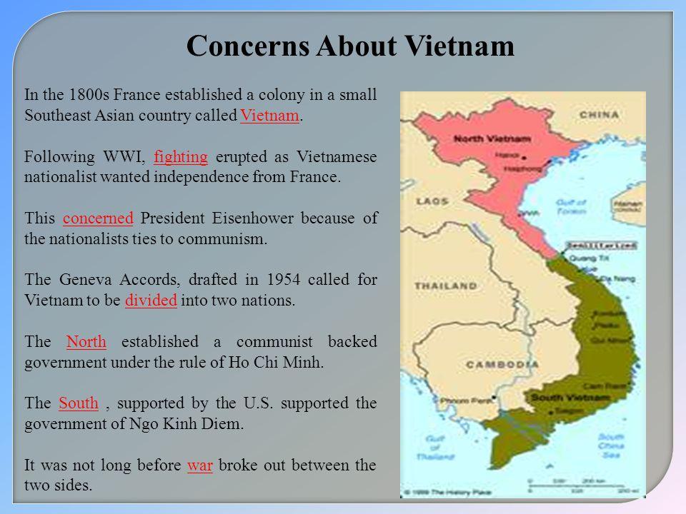 Concerns About Vietnam