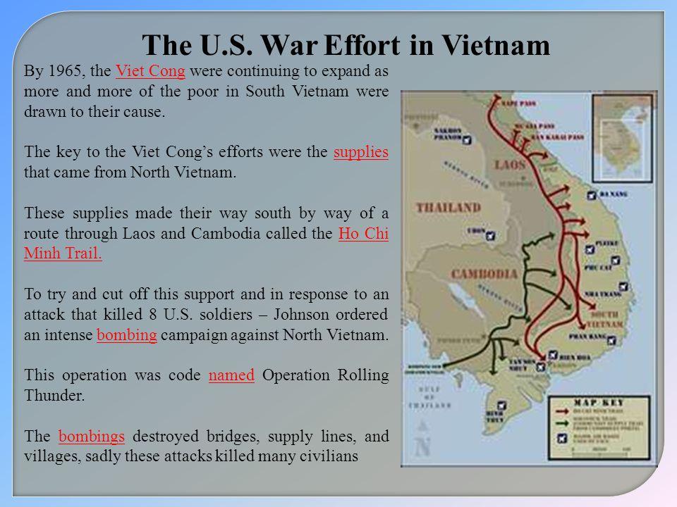 The U.S. War Effort in Vietnam