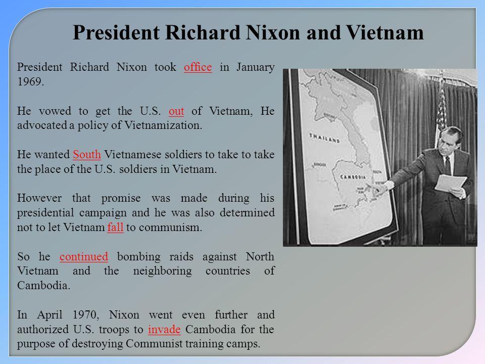 President Richard Nixon and Vietnam