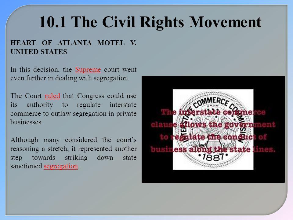 10.1 The Civil Rights Movement