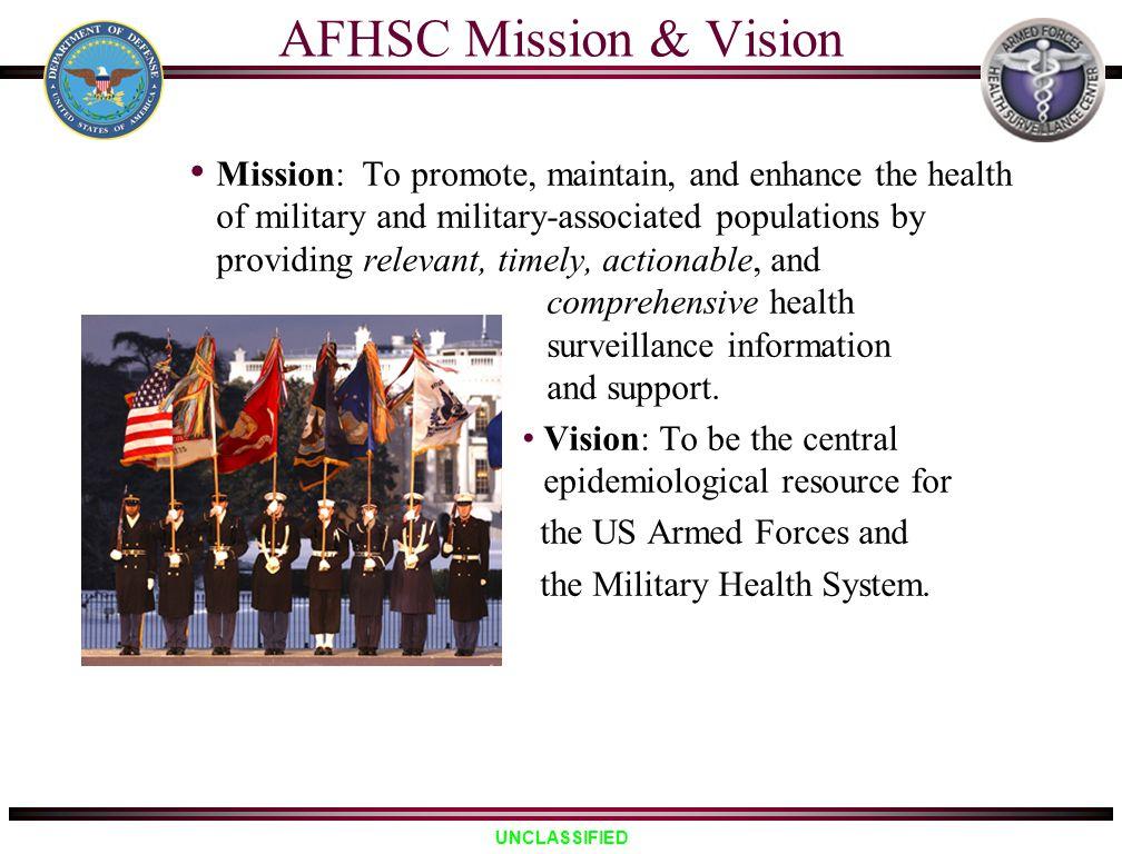 AFHSC Mission & Vision