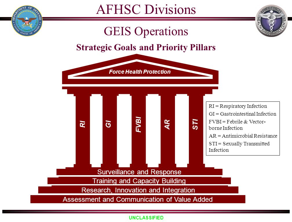 Strategic Goals and Priority Pillars