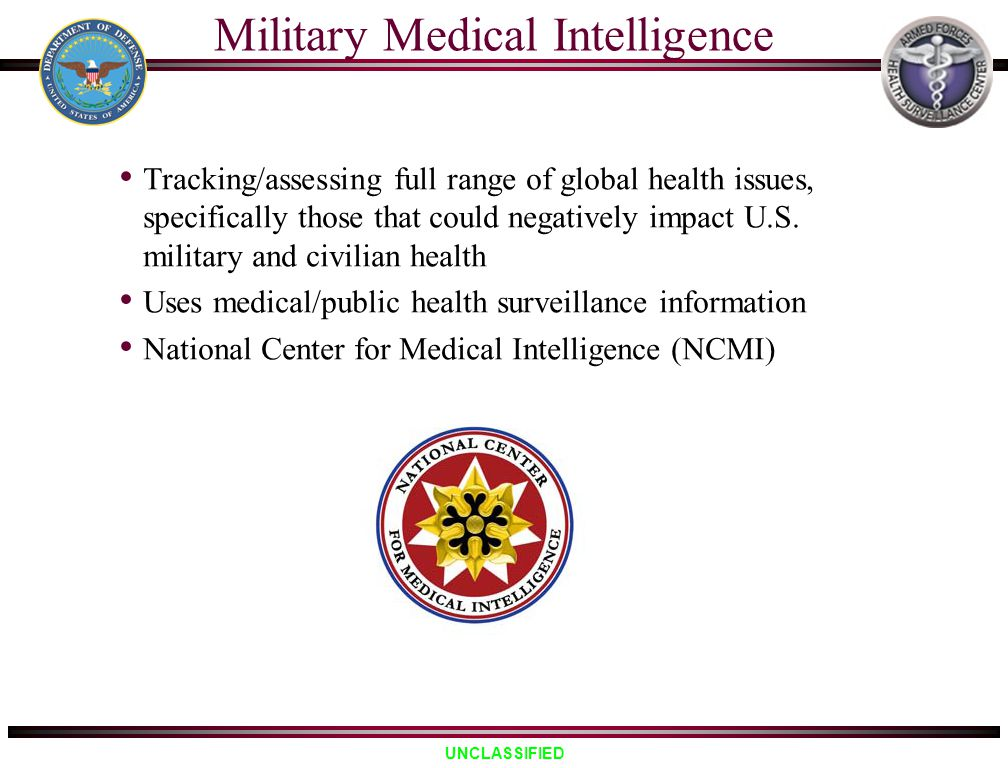 Military Medical Intelligence