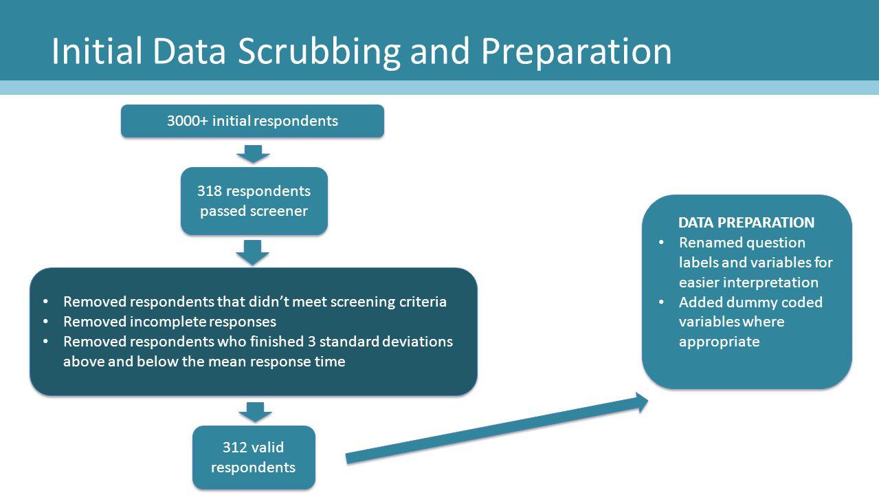Initial Data Scrubbing and Preparation