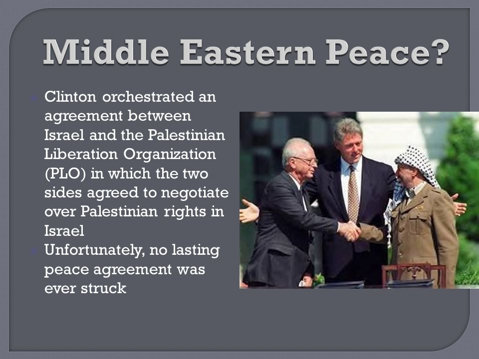 Middle Eastern Peace