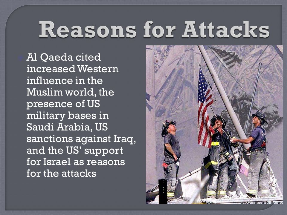Reasons for Attacks